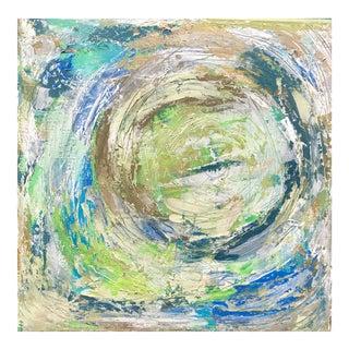 Round N' Round Acrylic Painting