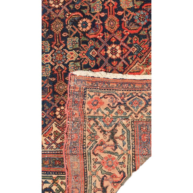 Blue 19th Fereghan / Saruk Palace Size Rug For Sale - Image 8 of 13