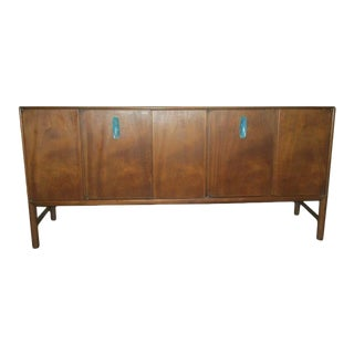 Ray Sabota for John Stuart Walnut Credenza For Sale