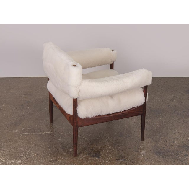 Soren Willadsen Mobelfabrik Kristian Vedel Sheepskin Modus Lounge Chairs - a Pair For Sale - Image 4 of 13