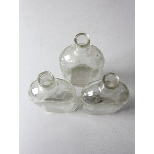 Pyrex Antique Pyrex Apothecary Bottle Collection - - Set of3 For Sale - Image 4 of 9