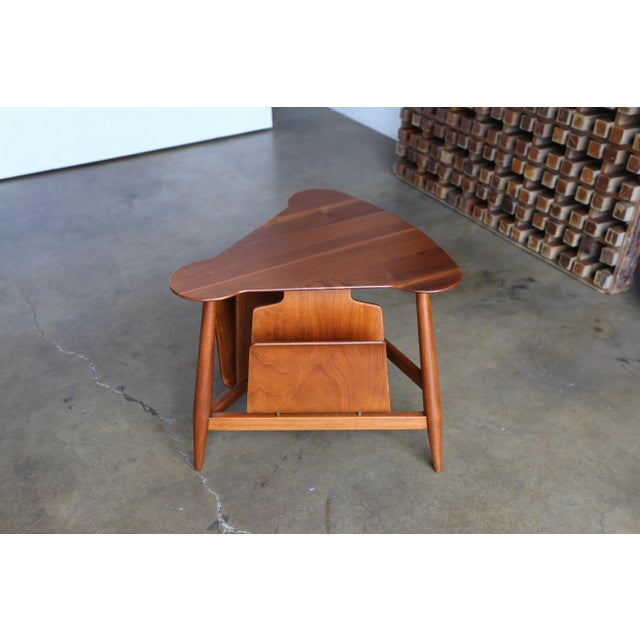 Dunbar Furniture Mid Century Edward Wormley Model 5313 Magazine Table For Sale - Image 4 of 13