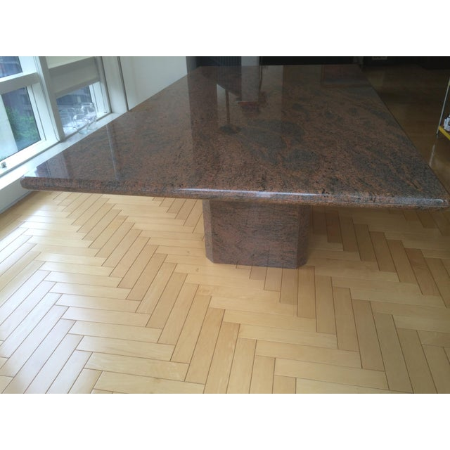 Modern Marble Dining Table - Image 4 of 5