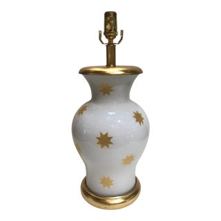 """Liz Marsh Designs """"Gold Star"""" Lamp For Sale"""
