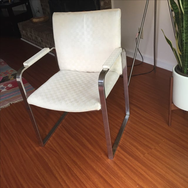 Milo Baughman Vintage Accent Chairs - Pair - Image 8 of 11