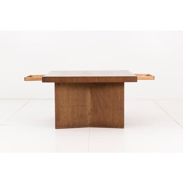 Mid-Century Modern Frank Lloyd Wright Partners Desk For Sale - Image 3 of 7