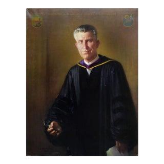 Portrait of Raymond L. Hanson For Sale