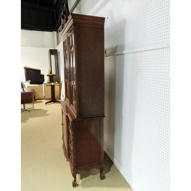 Georgian Style China Cabinet For Sale In Philadelphia - Image 6 of 13