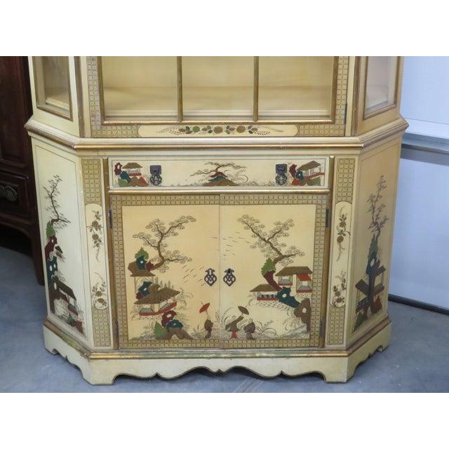 Schmieg & Kotzian Chinoiserie China Cabinet - Image 2 of 6