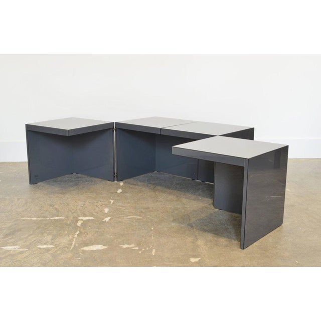Rosenthal Domino' Coffee Table by Jan Wichers and Alexander Blomberg For Sale - Image 4 of 7