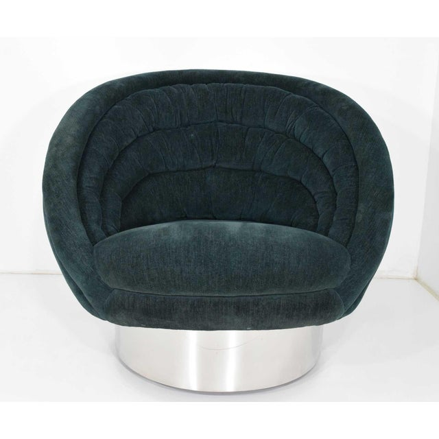 Vladimir Kagan Crescent Chair For Sale - Image 10 of 10