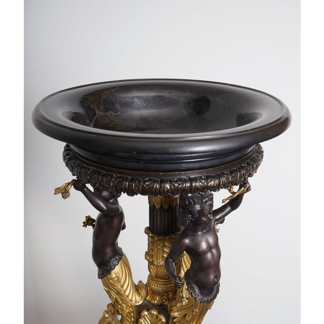 Empire Exceptional Empire Style Center Piece - Homage to Bacchus For Sale - Image 3 of 5