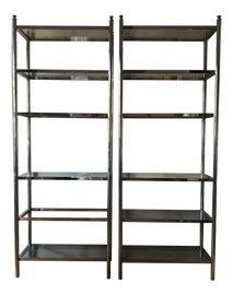 Image of Milo Baughman Bookcases and Étagères