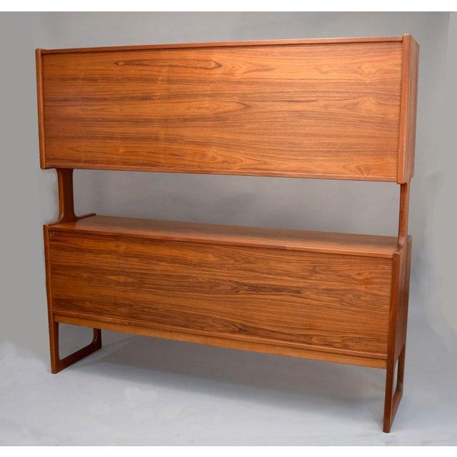 1960s Danish Teak Room Divider Sideboard - Image 5 of 11