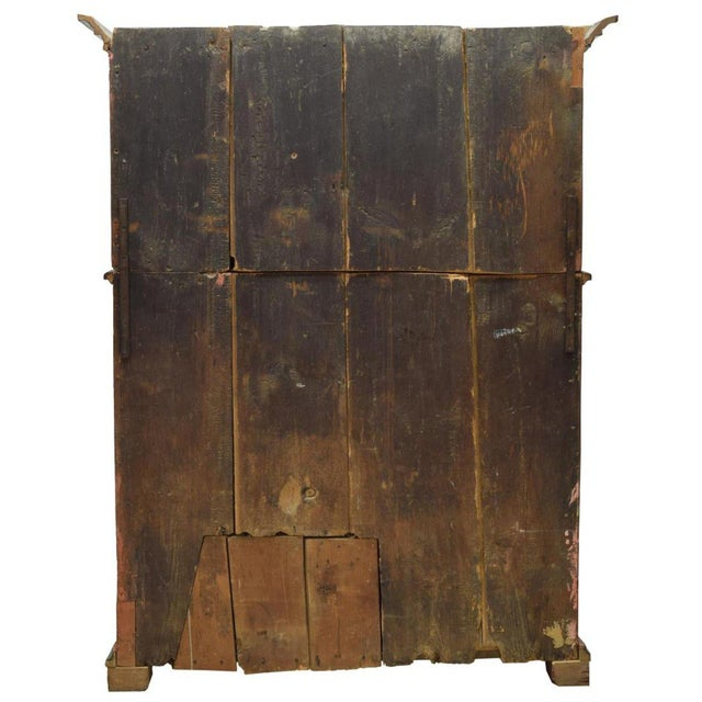 18th Century Swedish Country Pine Painted Cupboard For Sale - Image 4 of 5