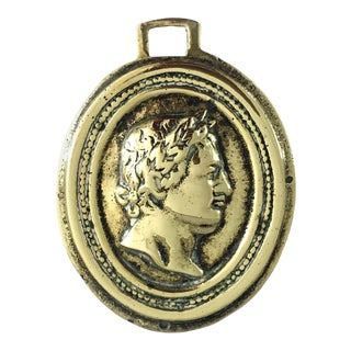 Italian Grand Tour Plaque of Caesar For Sale