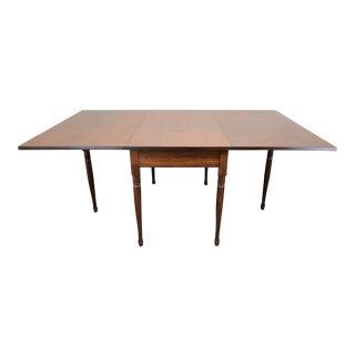 Ea Clore Sons Gate Leg Drop Leaf Table No. 513-T For Sale