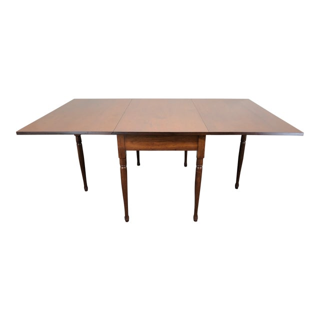 Ea Clore Sons Gate Leg Drop Leaf Table No. 513-T For Sale