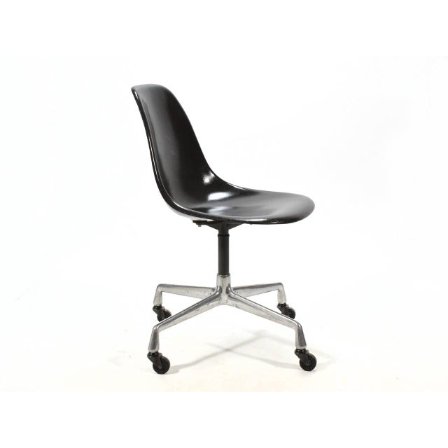 The Eames fiberglass chairs are established classics of Mid-Century Modern design that can serve well and look great in...