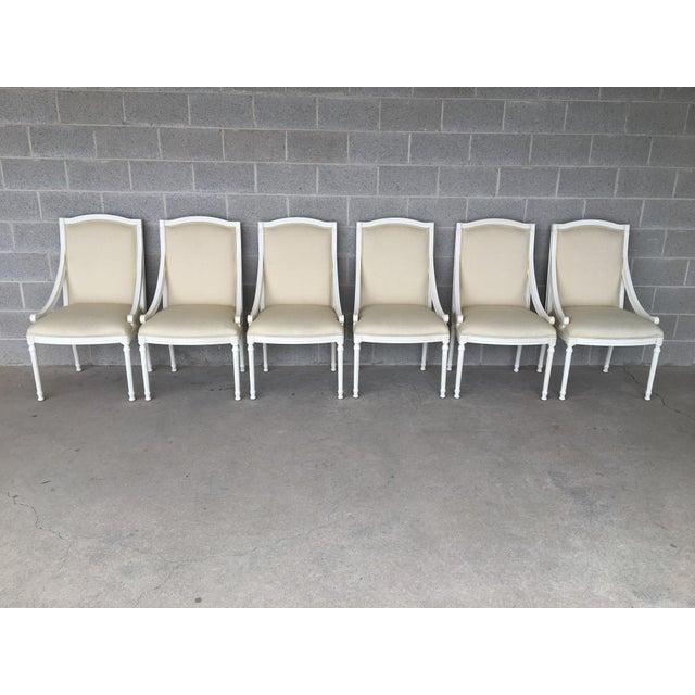 Ej Victor Luxar Dining Arm Chairs - Set of 6 For Sale - Image 12 of 12