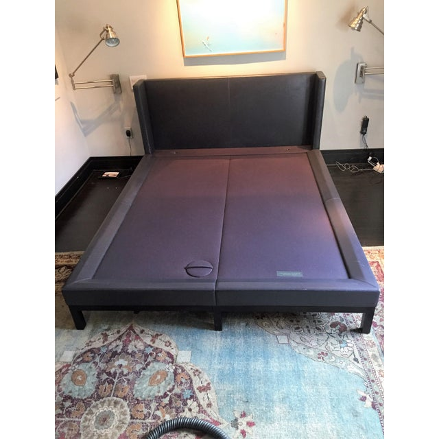 Christian Liaigre for Holly Hunt Leather Platform Bed - Image 2 of 7