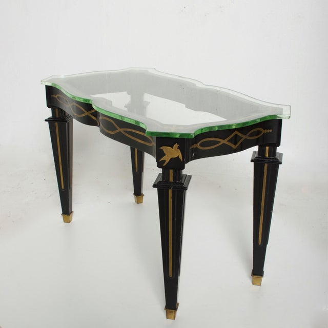 Mid-Century Mexican Modernist Fleur De Lis Side Table by Arturo Pani For Sale - Image 9 of 11