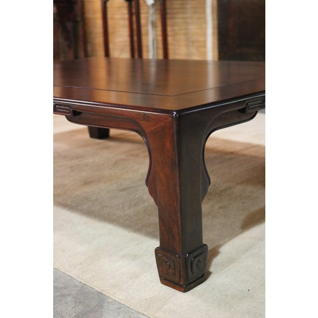 Japanese Rosewood Coffee Table For Sale - Image 4 of 6