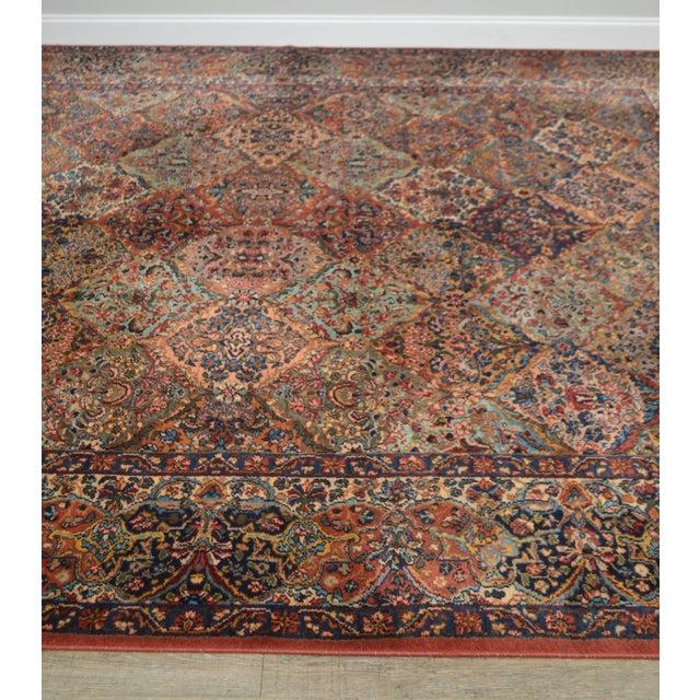 Karastan 8.8x12 Multicolor Panel Kirman Room Size Rug # 717 For Sale In Philadelphia - Image 6 of 13