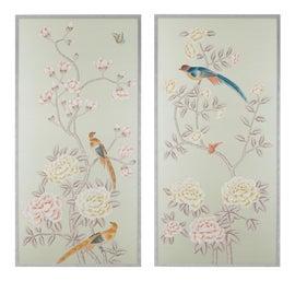 Image of Silk Paintings