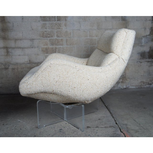 1960s Vladimir Kagan Cosmos Lounge Chairs- A Pair For Sale - Image 9 of 13
