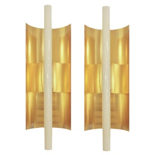 Gio Ponti Wall Lights - Pair For Sale