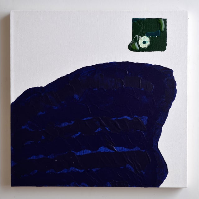 Blue & Green Brushless #18 Painting - Image 4 of 4