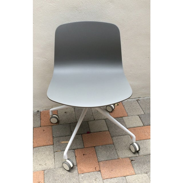 Grey Designer Office Chair - Image 2 of 3