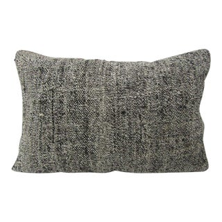 Turkish Gray Kilim Pillow For Sale