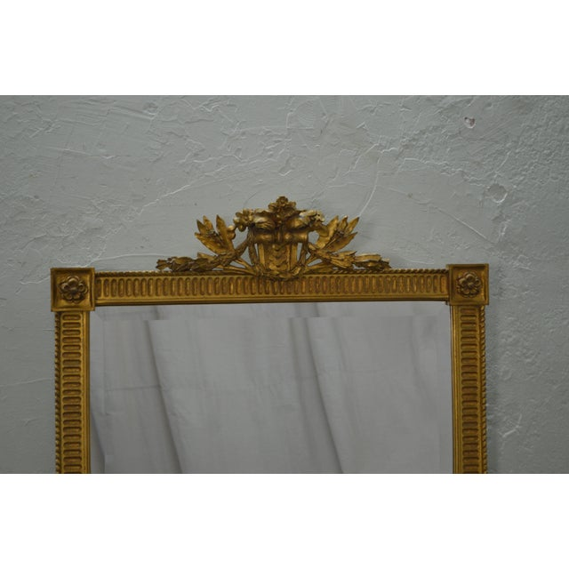 Carvers Guild French Louis XV Style Gilt Frame Beveled Wall Mirror For Sale - Image 5 of 10