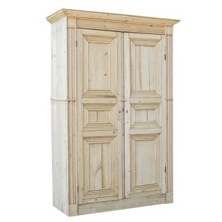 Exceptional Pine Armoire For Sale
