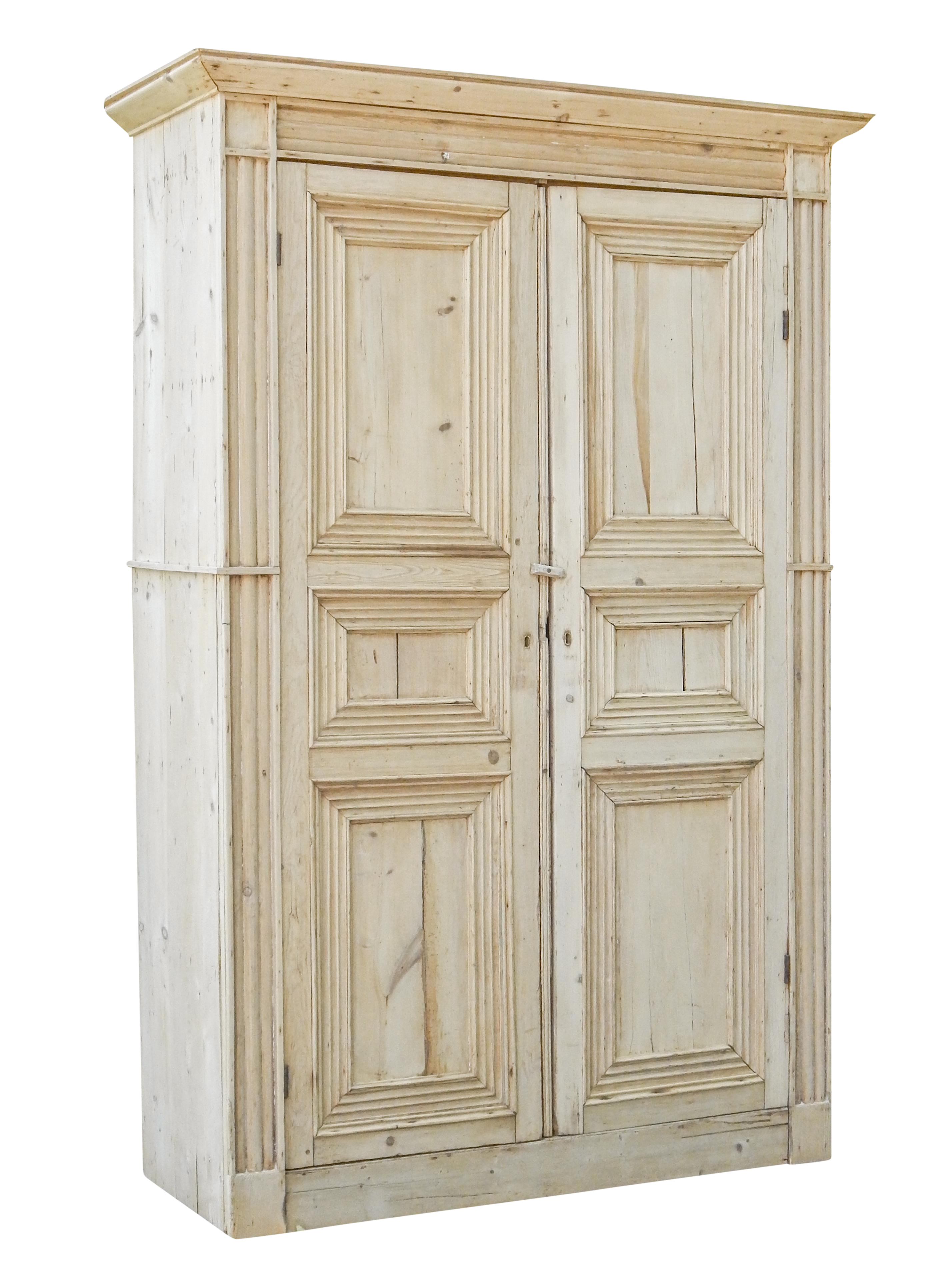 Exceptional Pine Armoire