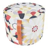 Image of Missoni Home Multicolored Pouf For Sale