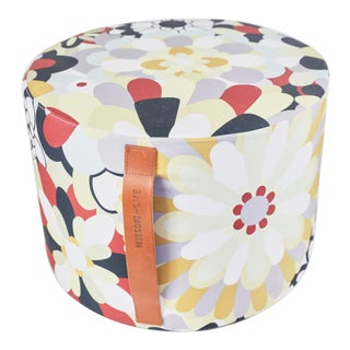 Missoni Home Multicolored Pouf For Sale