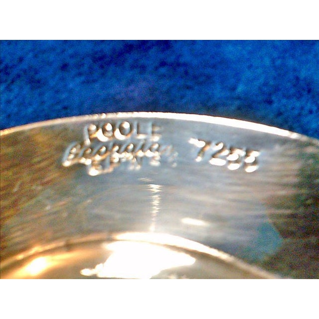 Vintage Poole Silverplate Relish Tray For Sale - Image 4 of 6