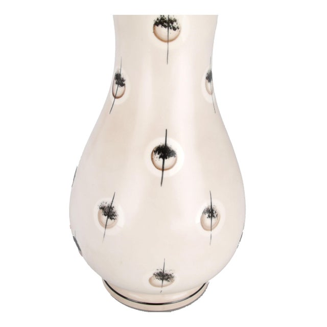 Italian Italian Handmade Ceramic Lamp For Sale - Image 3 of 6