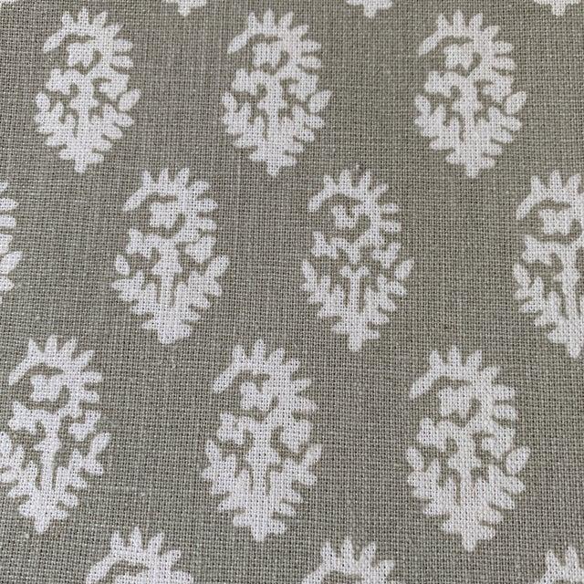Boho Chic Peter Dunham Tan Rajmata Fabric - 1 1/4 Yards For Sale In New York - Image 6 of 7