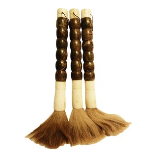 CHINESE Calligraphy Brushes - Set of 3 For Sale