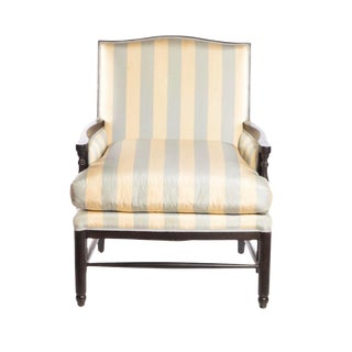 Late 20th Century Minton-Spidell Normandie Upholstered Armchair For Sale
