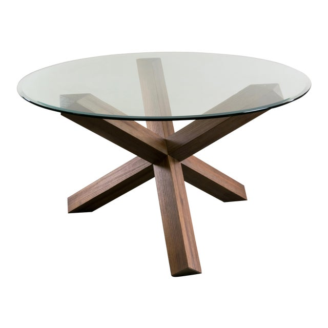 Sculptural Cerused White Oak Dining Table Attributed to Ralph Lauren - Image 1 of 11