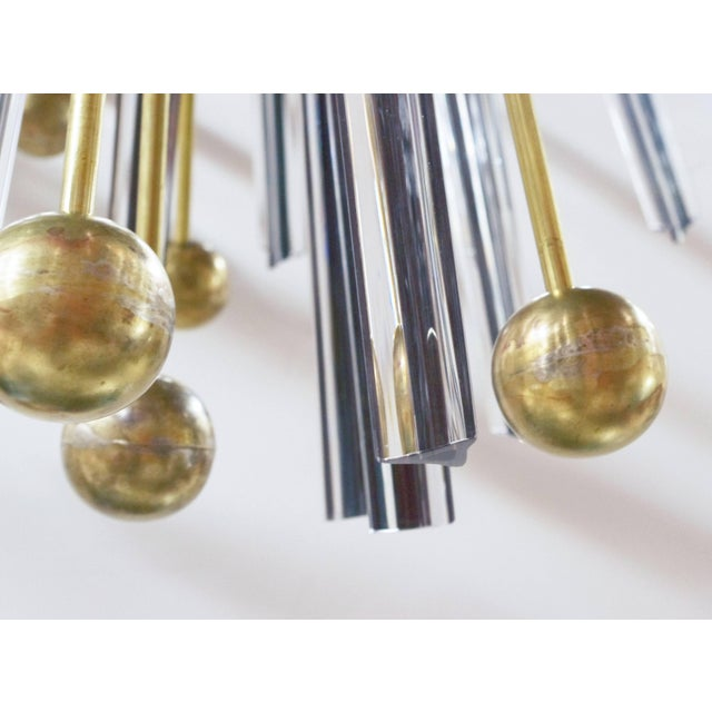 Gold Autunno Sputnik Chandeliers / Flush Mounts by Fabio Ltd (2 Available) For Sale - Image 8 of 11
