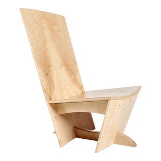 English Sycamore Verpozen Chair For Sale