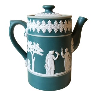 Dudson Brothers Jasperware Tea Pot For Sale