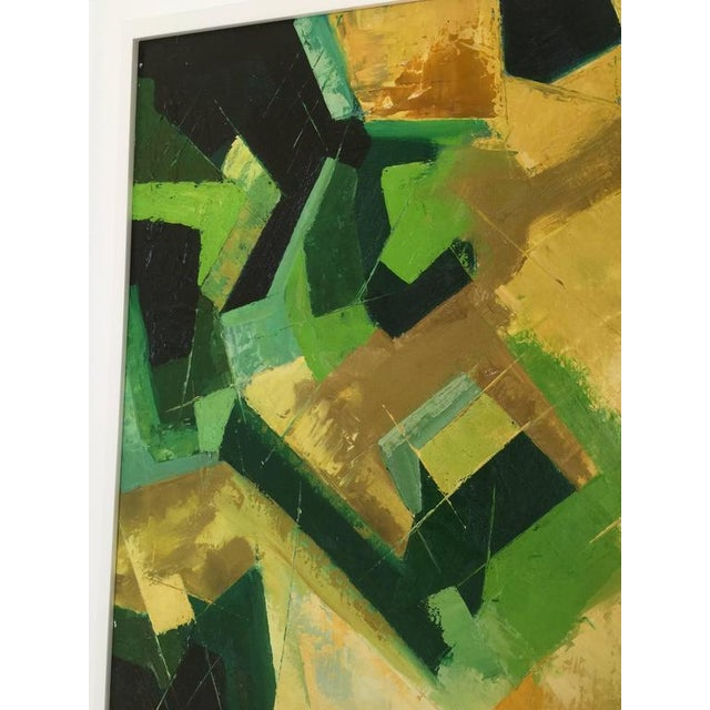 Original Kinney Oil on Board in Multi-Color Abstract - Image 2 of 5