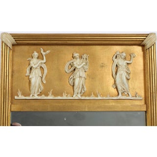 Early 20th Century Giltwood Neoclassical Wall Hanging Mirror Preview